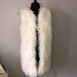 French Connection Brand, fur vest